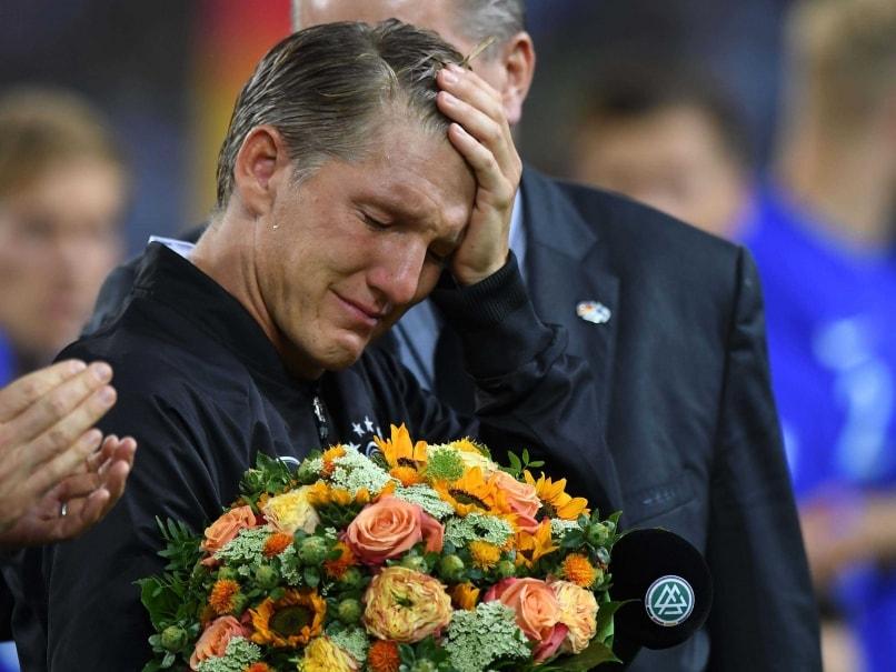 Emotional Bastian Schweinsteiger Bids Goodbye to Illustrious Germany Career