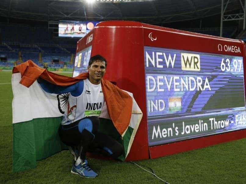 Devendra Jhajharia Smashes Javelin World Record To Win Paralympic Gold at Rio