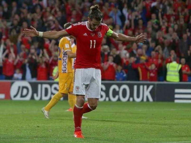 Gareth Bale Wales 0609