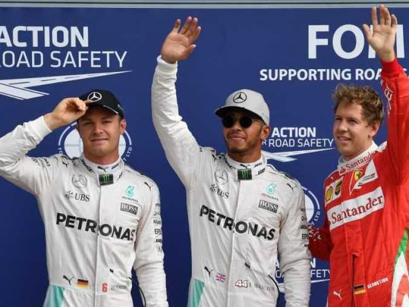 Italian GP Qualifying: Lewis Hamilton Grabs Pole, Nico Rosberg Secures Second