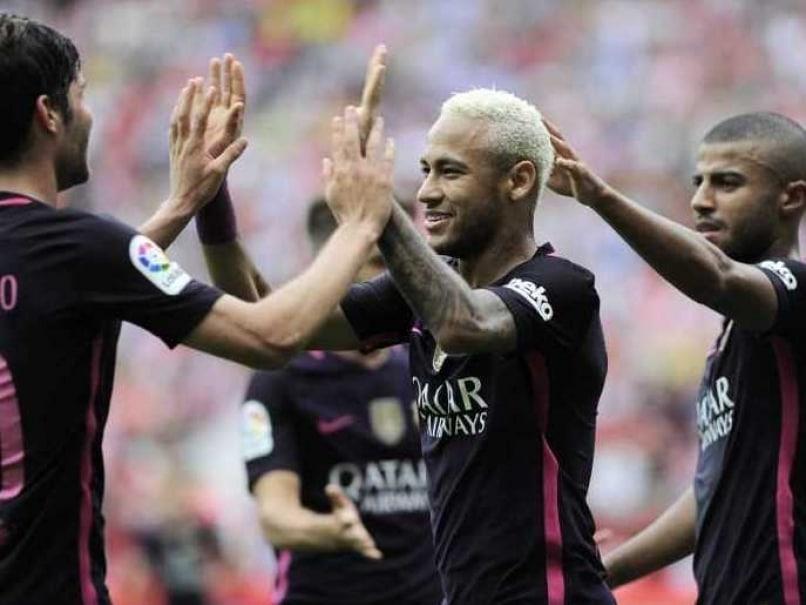 La Liga: Luis Suarez, Neymar on Target as Barcelona Crush Sporting Gijon