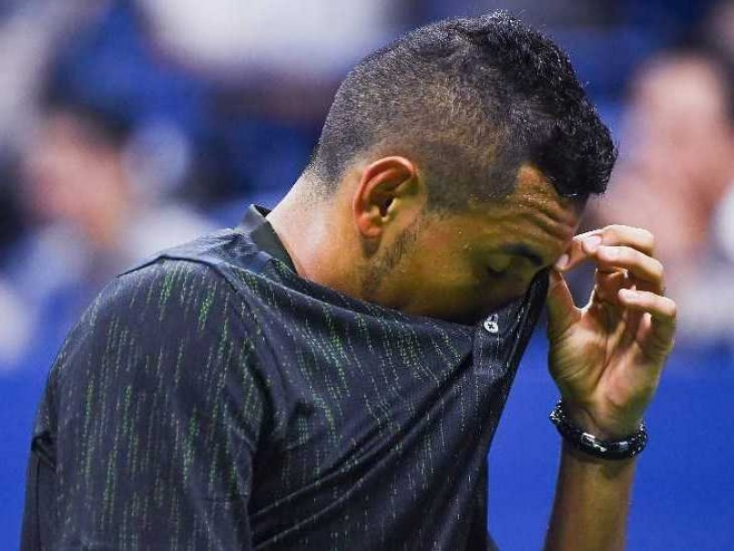 Nick Kyrgios Quits US Open in Tears After Sustaining Injury
