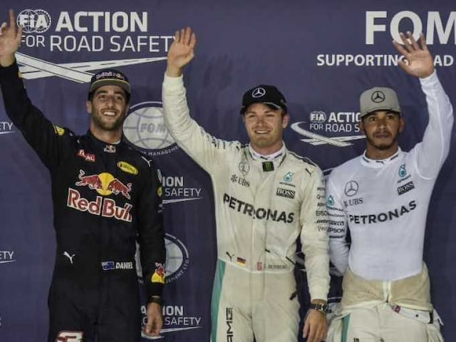 Singapore GP Qualifying: Nico Rosberg Grabs Pole, Daniel Ricciardo Takes Second