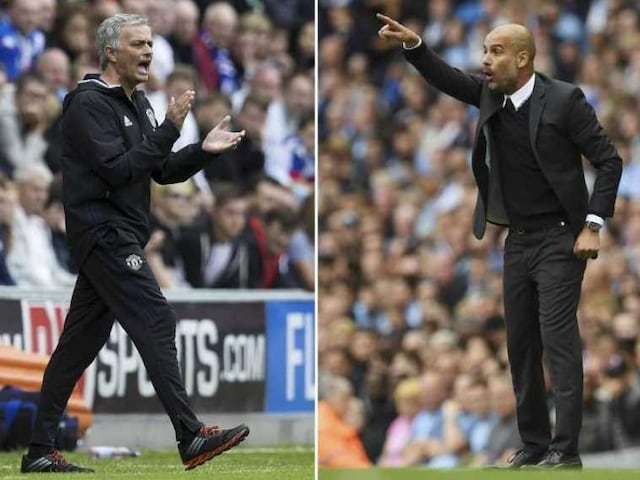 Premier League: Pep Guardiola and Jose Mourinho Resume Hostilities In Manchester Derby Duel