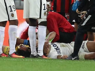 Radamel Falcao to Spend Night in Hospital After Head Clash