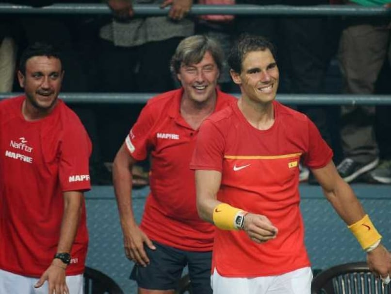 Rafael Nadal Helps Spain Return to Davis Cup World Group After Toppling Valiant India