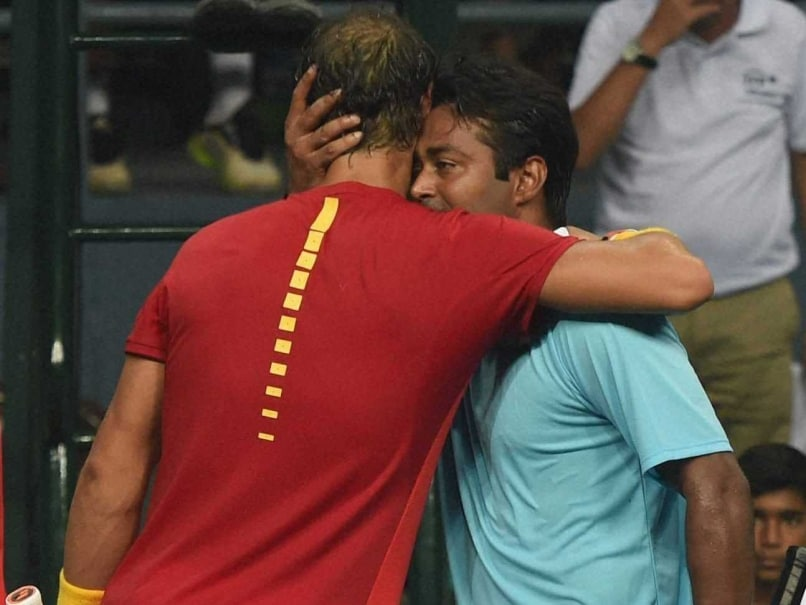 Leander Paes One of The Best Players in The World: Rafael Nadal
