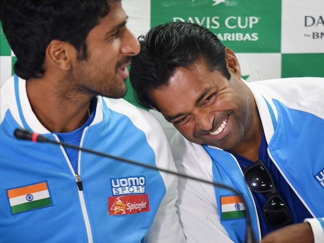 Leander Paes May be Paired With Saketh Myneni For Davis Cup Tie vs Spain
