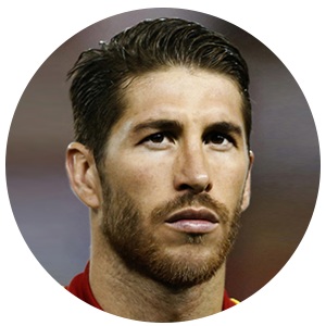 Sergio Ramos Garcia Profile - Football Player,Spain ... Badminton Player Png