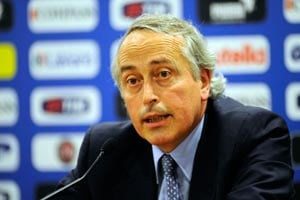 Giancarlo Abete re-elected as Italian football federation head