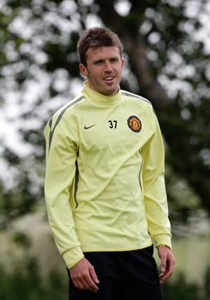 England's Carrick out of Euro qualifier