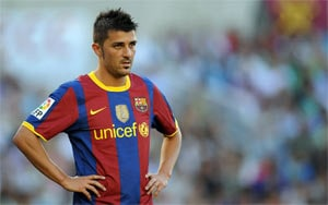 David Villa ends second hospital stay for kidney stones
