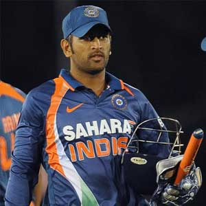 Dhoni may be rested for the 1st Test against West Indies
