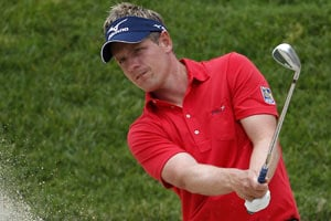 Luke Donald getting used to life at the top