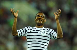 Malouda urges one last push for 2 friendlies
