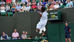 Ninth seed Monfils knocked out by Kubot