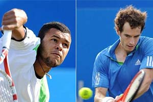 Murray to face Tsonga in Queen's final
