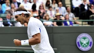 Nadal progresses into 4th round at Wimbledon