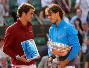 Rafael Nadal can break my record of 17 Grand Slam titles, says Roger Federer