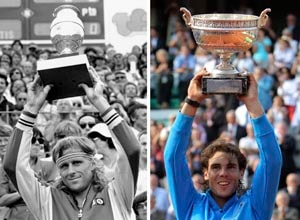Nadal honoured by Borg comparison