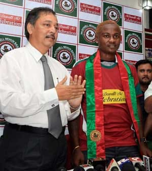 Mohun Bagan signs Odafe for record Rs 2 crore one-year deal