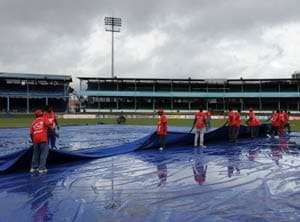 Overnight rain deprives Windies of outdoor batting practice