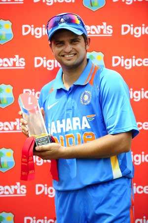Badrinath, Rohit set up win for us: Raina