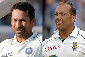 Sachin and Kallis share top spot in Test rankings