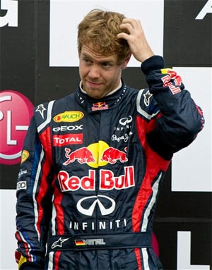 I threw it away, admits Vettel