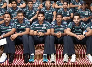 Indian cricket team arrives in West Indies