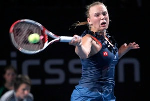Wozniacki cruises into semifinals at Copenhagen