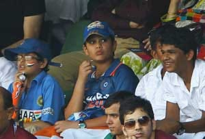 When Arjun cheered for dad Sachin at Wankhede