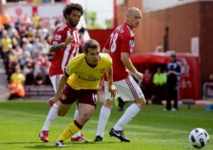 Arsenal slump to 3-1 defeat at Stoke
