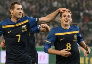 Socceroos claim maiden win over stunned Germany