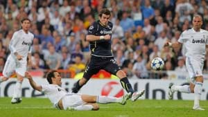 Gareth Bale wins top player award in England