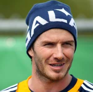 David Beckham wants footballs on birthday