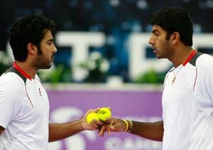 Bopanna-Qureshi in quarters of Stockholm Open