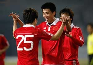 China beat Honduras in friendly