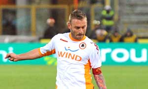 Real eye Roma star De Rossi - Report