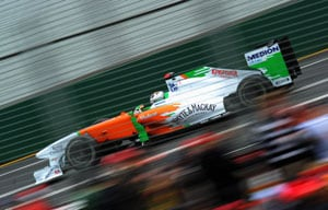 Sutil, Resta rise to 9th, 10th after Sauber pair's exclusion