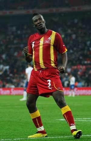 Ghana striker Gyan 'very happy' in Emirates