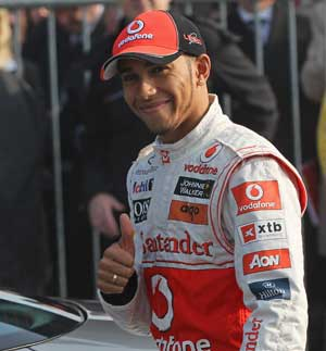 Hamilton in reverse gear over title hopes