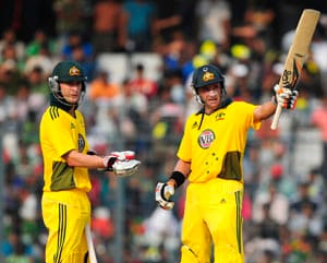 Hussey ton sets up clean-sweep over Bangladesh