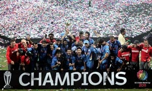 India's World Cup win highlights year 2011