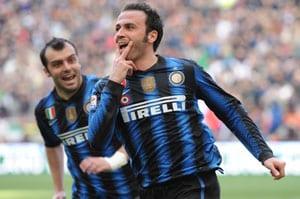 Inter close gap on Milan