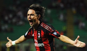 Inzaghi hoping for return in 20 days