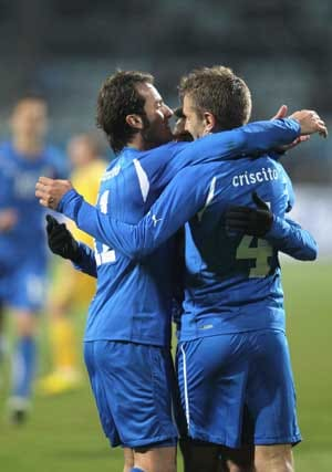 Italy strike double against Ukraine