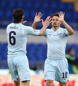 Lazio back in Champions League reckoning