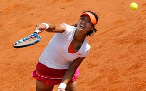 History-maker Li Na in first French Open quarters