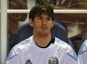 Argentine inspection team's thumbs-up to venue for Messi match